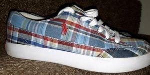 Polo Ralph Lauren Thornton plaid sneakers